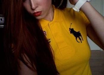 Is it weird when girls wear polo shirts?
