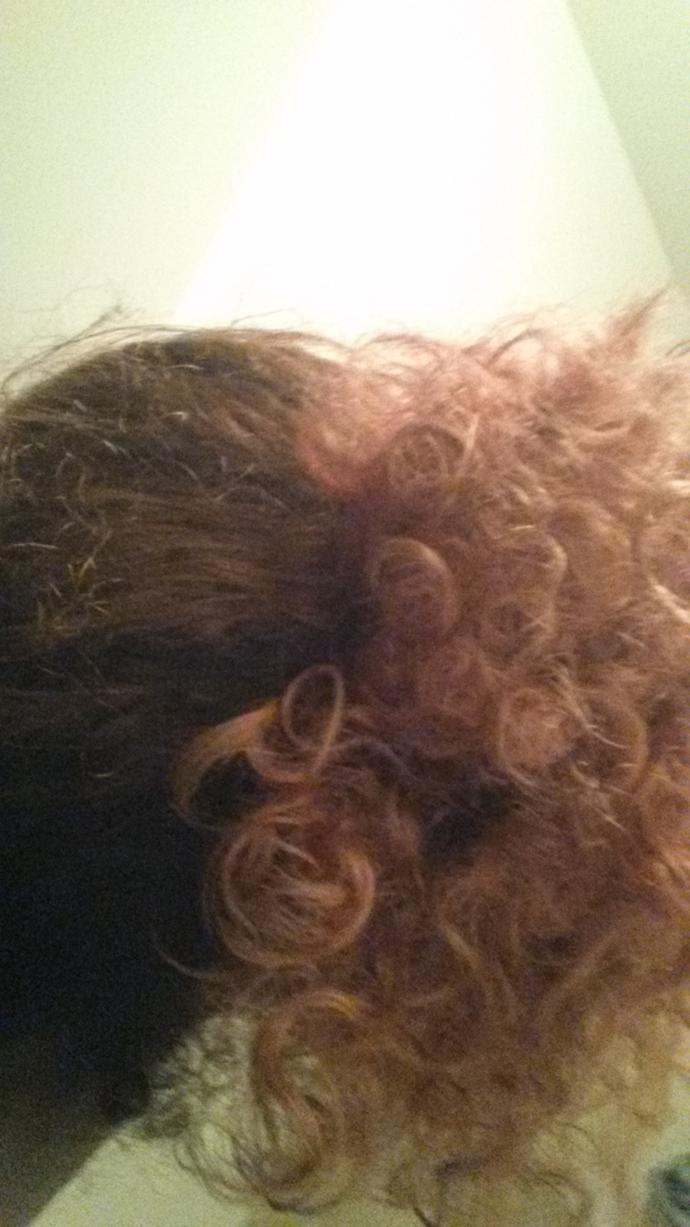 How curly is my ponytail from 1-10?