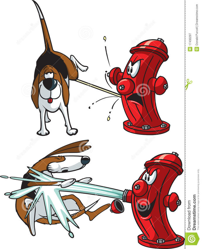 are you the dog or the hydrant?