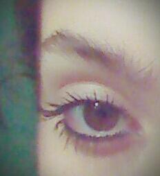 Who's eye is prettier?