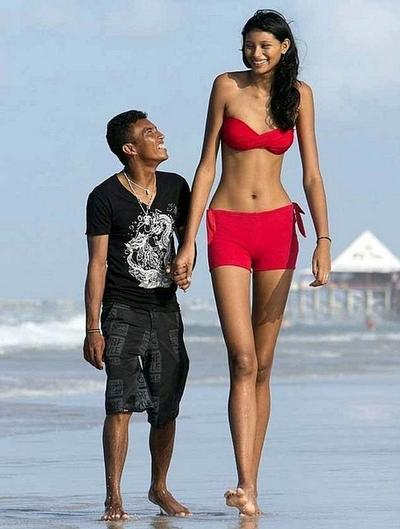 Dating a woman who is taller than you