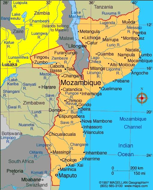 When you think of Mozambique, what first comes to mind?