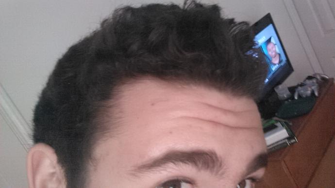 What's hair styles work for a slightly receding hairline?
