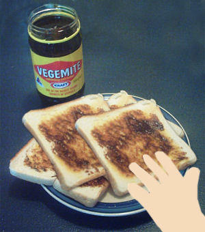 What is your choice for breakfast? Eating toast and Vegemite here in Melbourne, Australia?