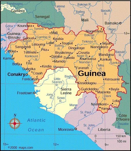 When you think of Guinea, what first comes to mind?