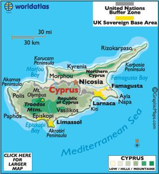 When you think of Cyprus, what first comes to mind?