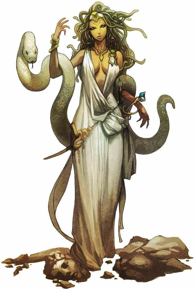 You wake up tomorrow, and you are now Medusa. What do you do?