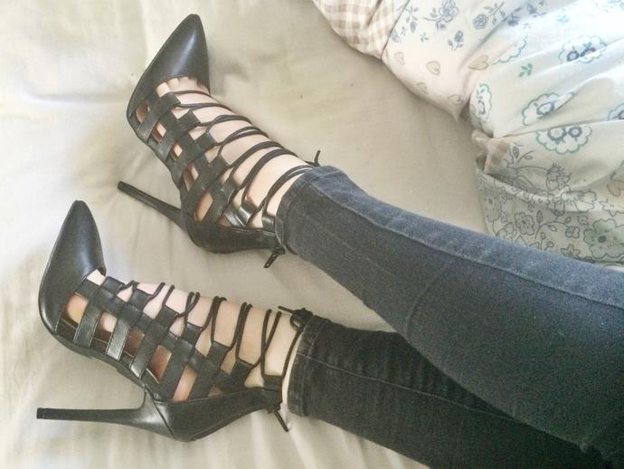 What do you think of these heels?