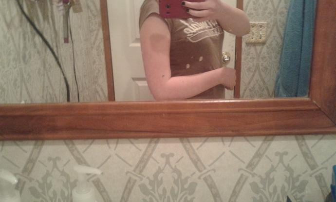 Honestly, do my arms look too big?