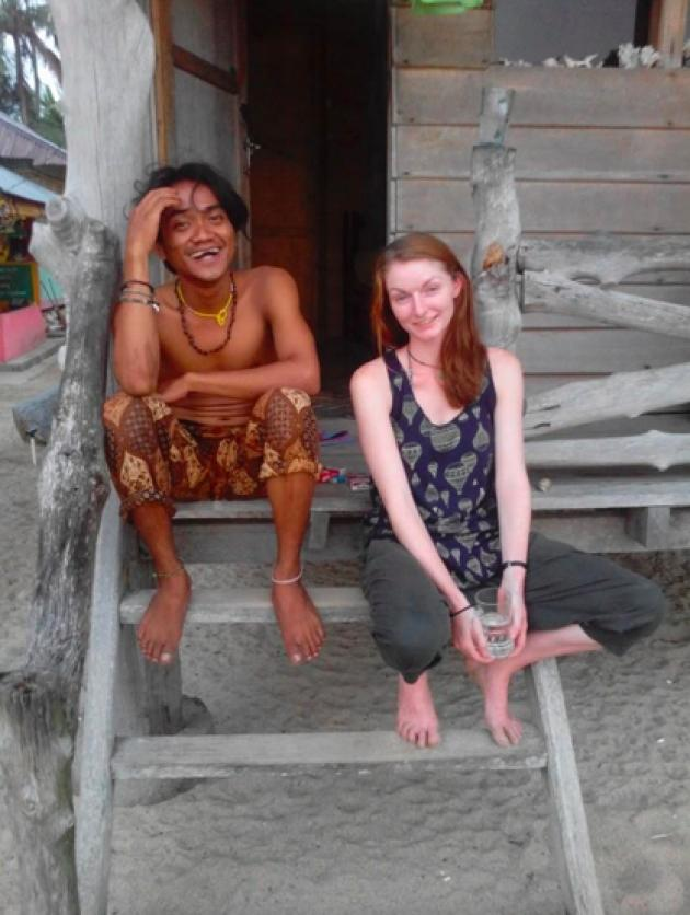 Rate this interacial couple (Indonesian man/British woman)! Who's more attractive the guy or the girl?