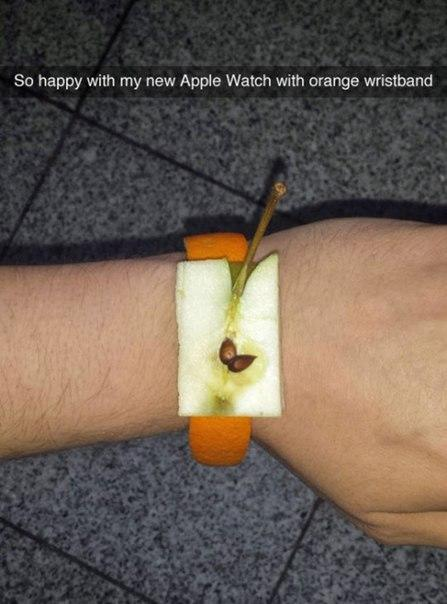 what do you think of my apple watch??