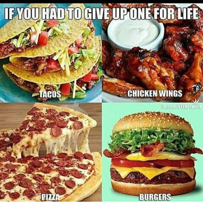 Which would you give up?