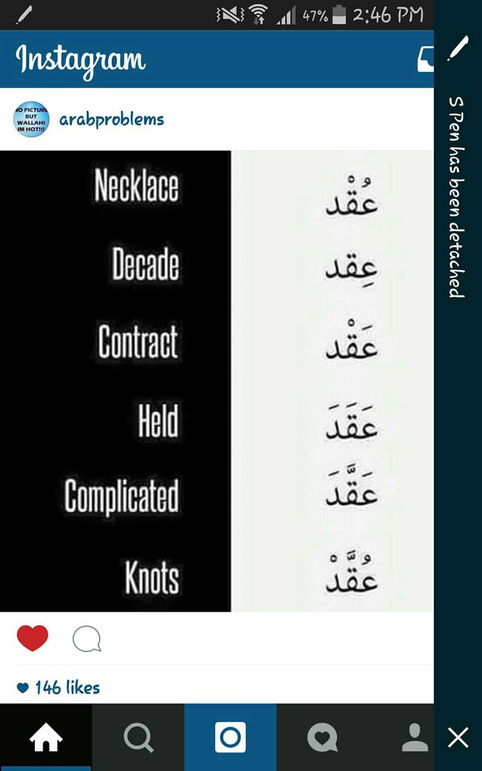 Do people realise that Arabic aren't that easy?
