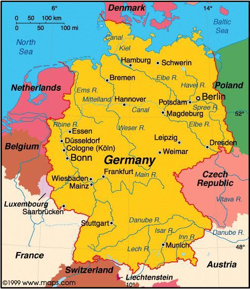 When you think of Germany what first comes to mind?