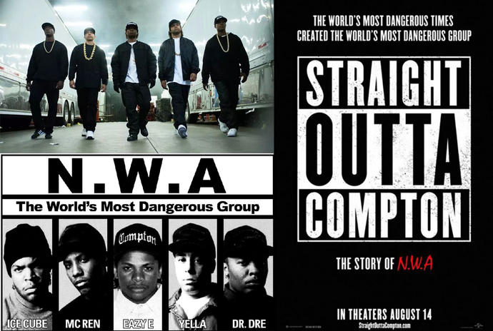 Is Anyone planning on watching the movie, Straight Outta Compton or has already watched it today?