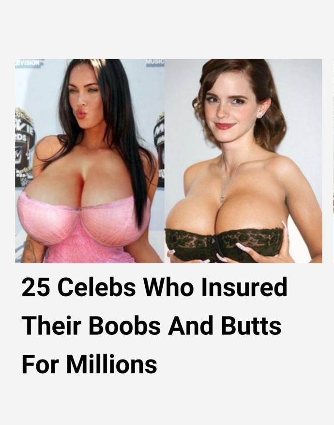 What's up with their boobs?