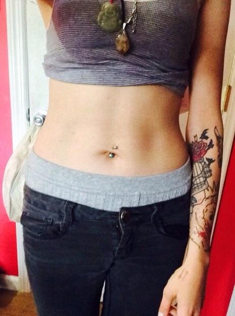 Belly button piercing, pro or con?