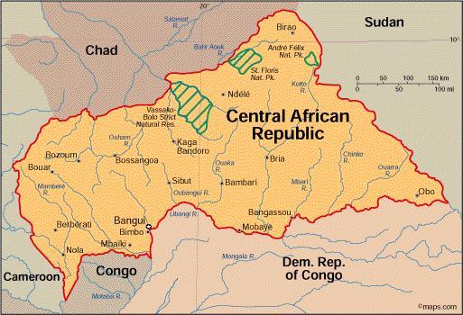 When you think of the Central African Republic, what first comes to mind?