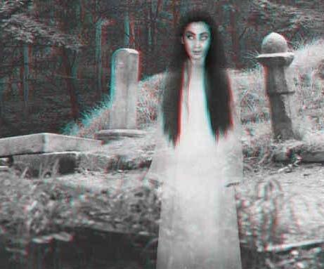 How would you react if you saw a ghost like these in real life at your own hom or at an abandoned place?