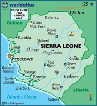 When you think of Sierra Leone, what first comes to mind?