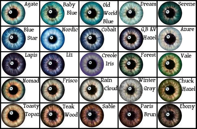 Girls, What eye colour do you think is the most attractive one?