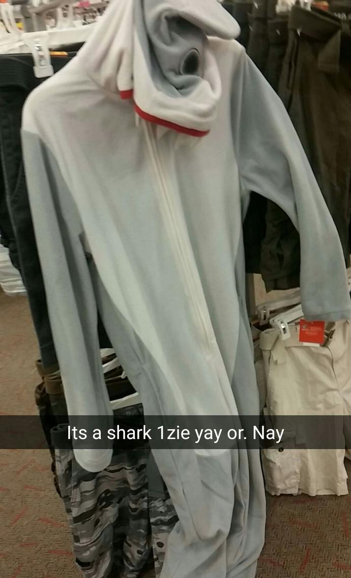 Should i buy this shark onezie?