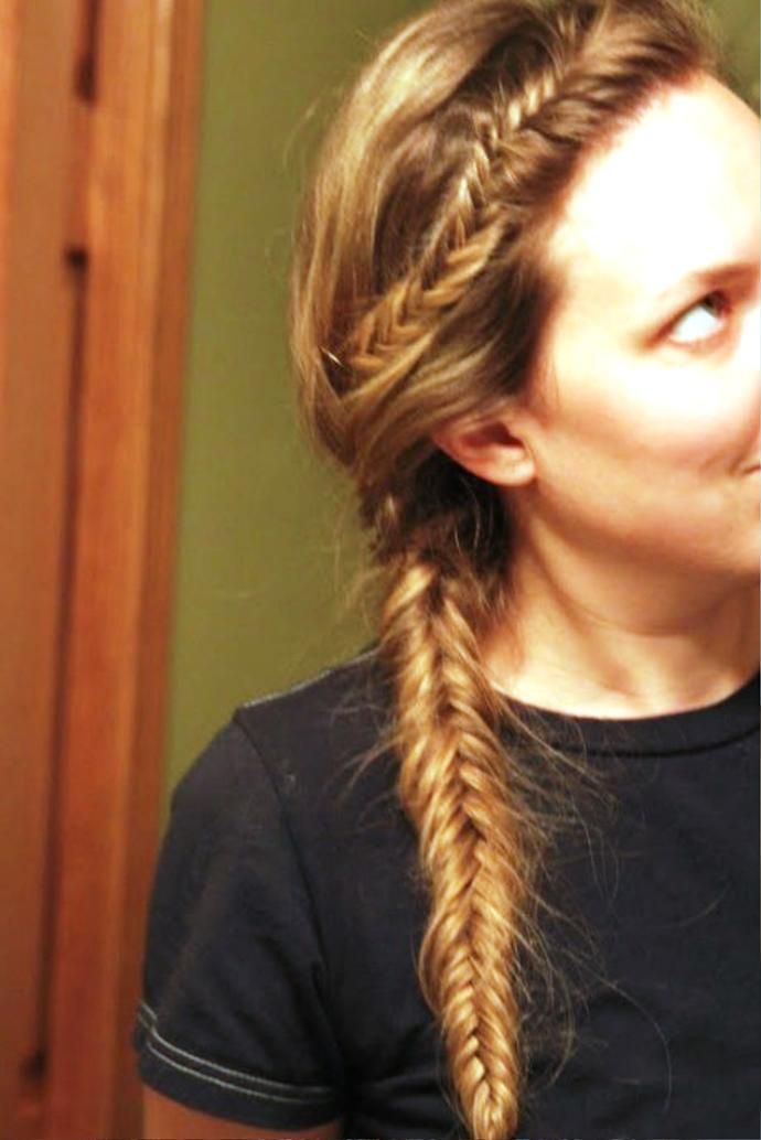 Can you make a more complicated fishtail braid?