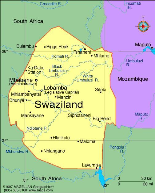 When you think of Swaziland, what first comes to mind?