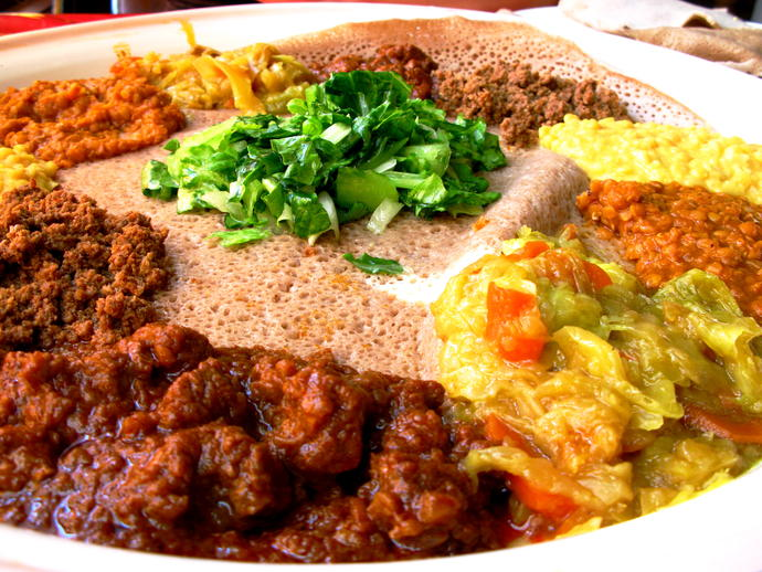 Have you ever tried Ethiopian food?