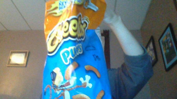I'm eating cheetoh puffs is this bag sexy or naw?