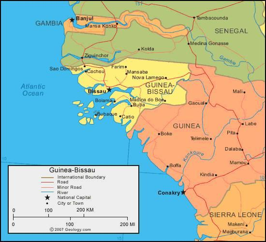 When you think of Guinea Bissau, what first comes to mind?