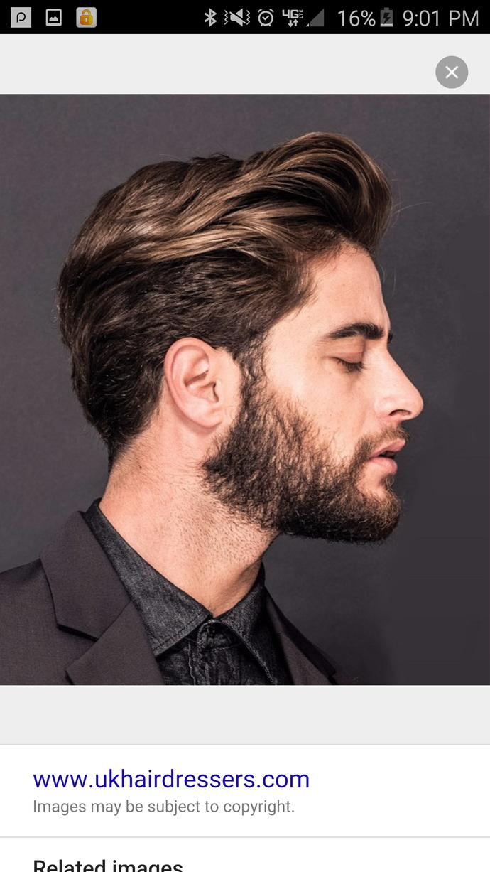 Anybody with great hair styling experience how would I get my hair to lay like this?  What would I use?