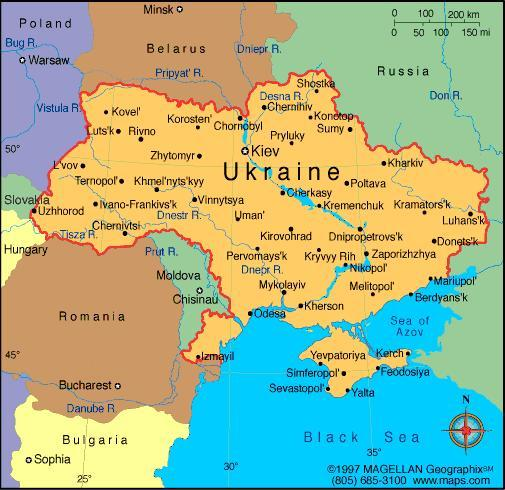 When you think of the Ukraine, what first comes to mind?