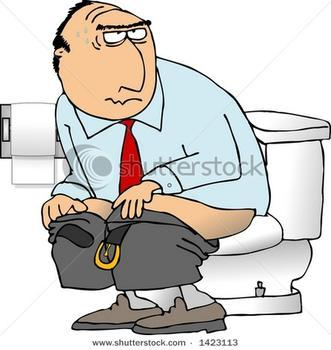 What if your taking a dump at someone's house and the flush doesn't work?