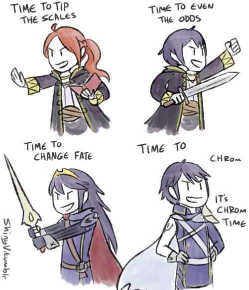 Chrom in Smash, Mega Flygon or Layton in Smash?