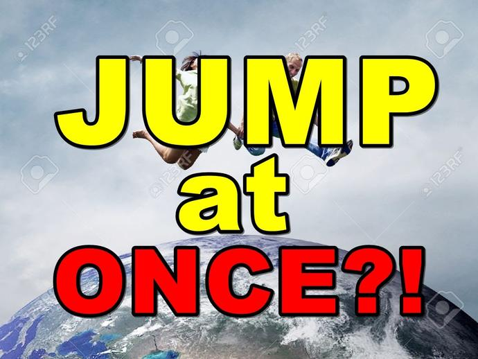 What would happen if everyone on earth jumped at once?