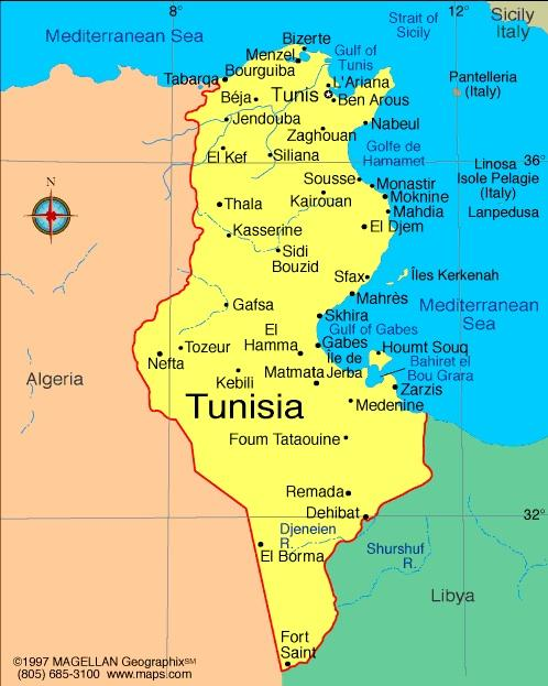 When you think of Tunisia, what first comes to mind?
