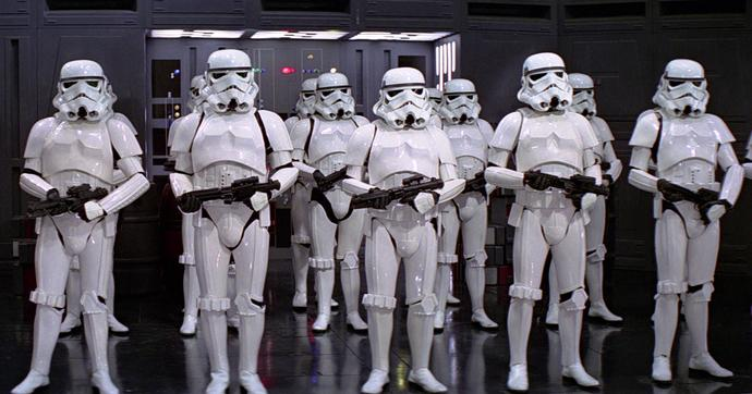 In every game you feel like a badass in the campaign but like a clone trooper in multiplayer. Am I right?