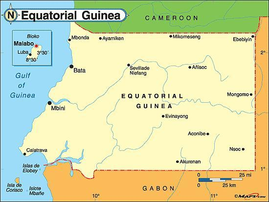 When you think of Equatorial Guinea, what first comes to mind?
