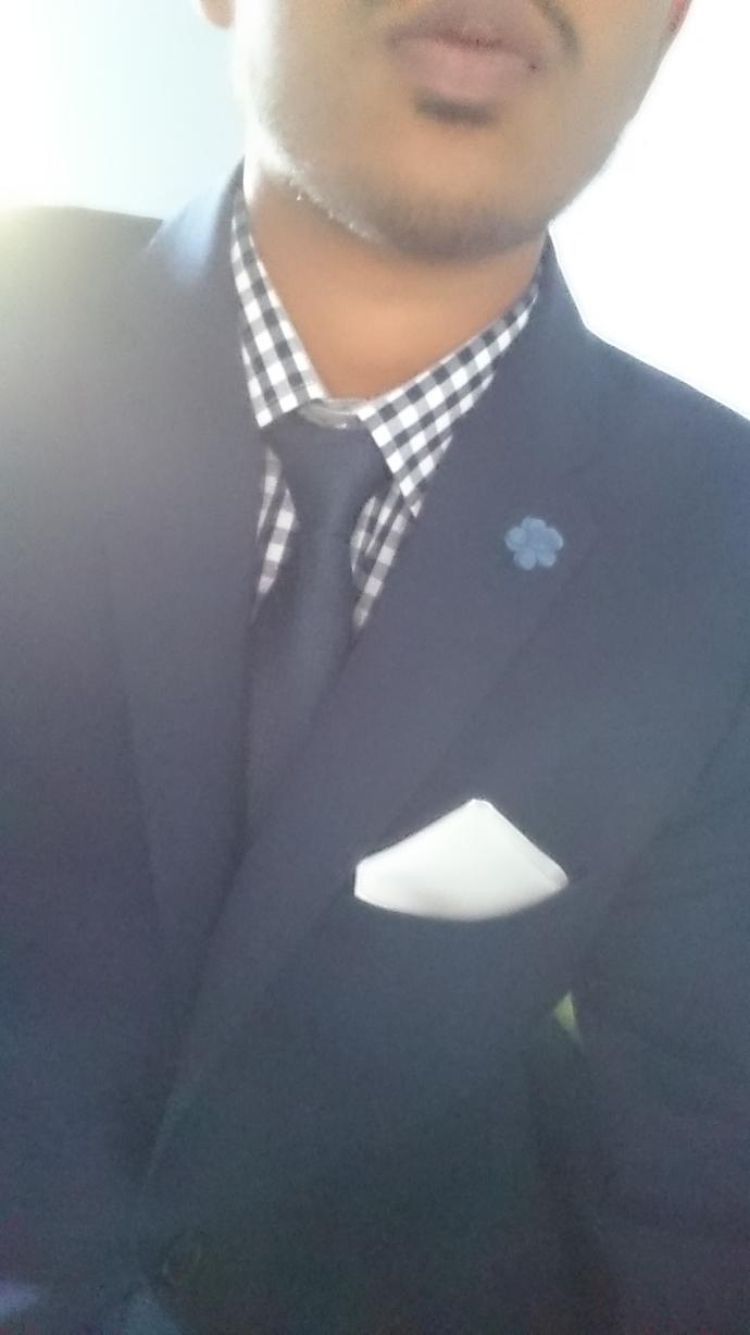 This shirt and suit combination?