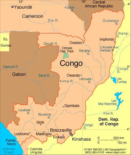 When you think of the Republic of Congo, what first comes to mind?