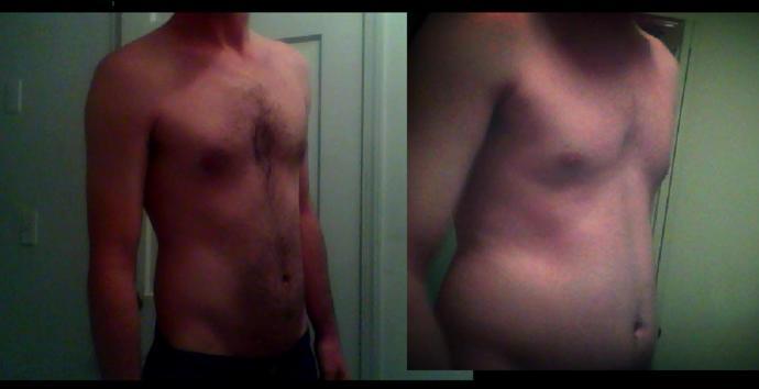 Do I look better a little fatter? My girlfriend thinks i do?