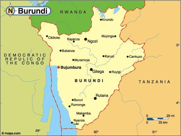 When you think of Burundi, what first comes to mind?
