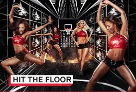 What kind of dancing do the girls perform on Vh1s Hit the floor?