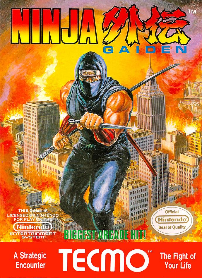 GAG users, do any of you remember any of the Ninja Gaiden video games and are a fan of them?