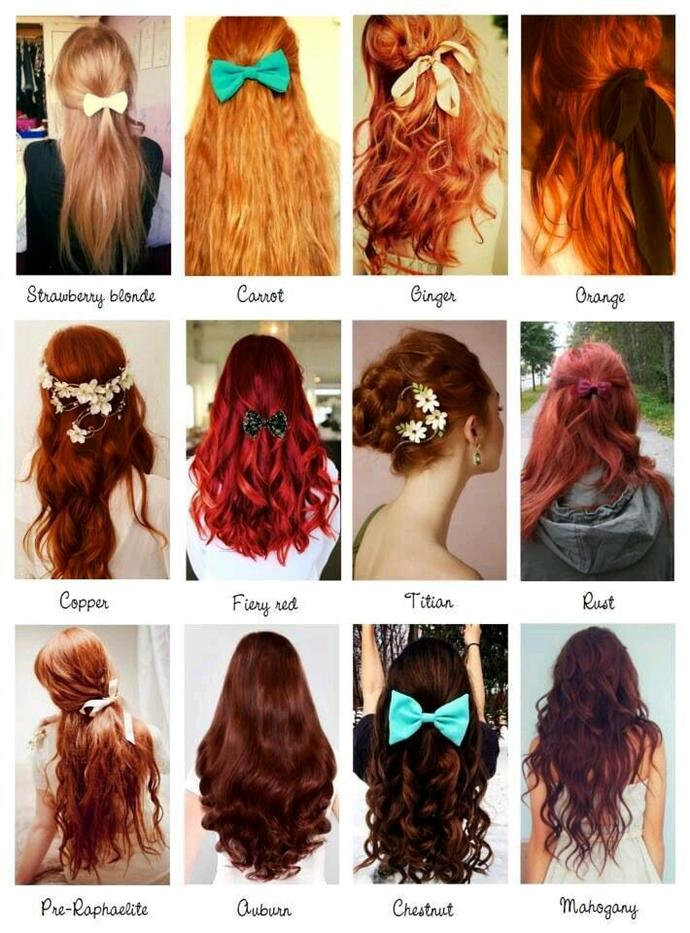 Out of these colours, which would you dye your hair to?