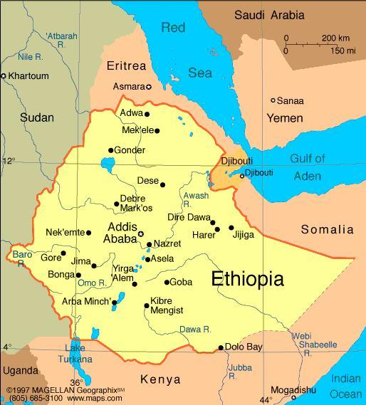 When you think of Ethiopia, what first comes to mind?
