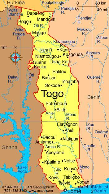 When you think of Togo, what first comes to mind?