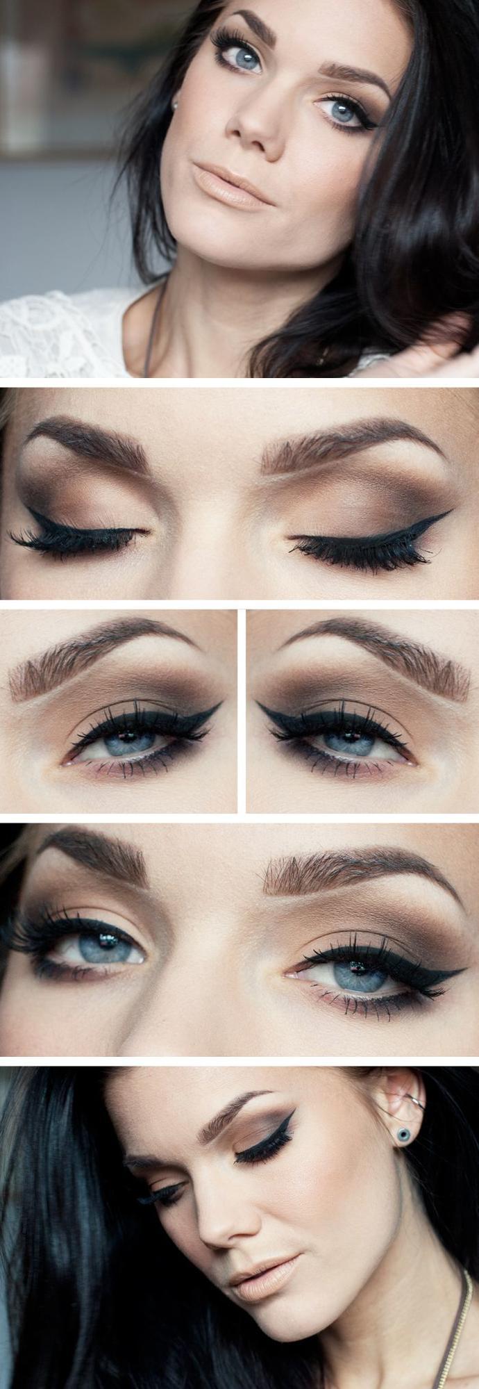Matte or shimmery eye shadows?