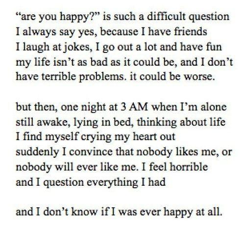 Are you truly happy in life?